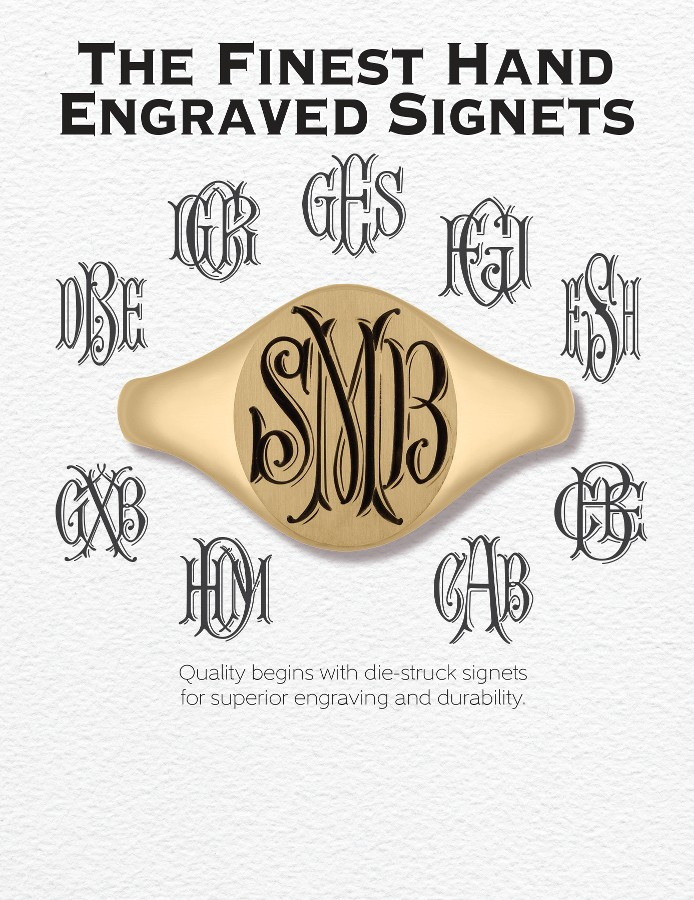 The Finest Hand Engraved Signets